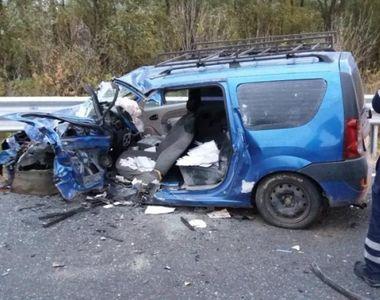 Accident teribil pe DN 22B, între Galaţi şi Brăila! Un bărbat a murit după ce un...