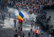 Şapte protestatari au fost arestaţi preventiv pentru agresarea jandarmilor la mitingul din 10 august