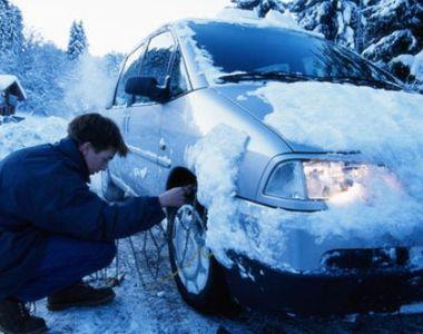 Cum îţi pregăteşti maşina pentru iarnă. Ce trebuie să faci ca să nu rămâi cu maşina în...