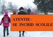 Se închid şcolile de vineri. Anunţul oficial făcut de Ministrul Educaţiei