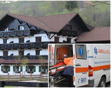 Ambulanţele au golit o pensiune din Braşov în urma unei suspiciuni de toxiinfecţie...
