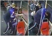 Imagini halucinante! O tânără a fost agresată într-un tramvai, spre nepăsarea celorlalţi călători