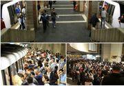 Aproape un milion de călători care merg în fiecare zi cu metroul se află în mare pericol! Avertismentul care stârneşte îngrijorare este lansat de sindicaliştii Metrorex