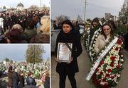 Imaginile durerii! Fiul cel mic al deputatului Viorel Stan a fost înmormântat. Au participat peste 500 de persoane