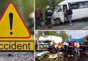 Accident deosebit de grav în Caraş-Severin! Un microbuz a fost implicat: sunt cel puţin 8 victime. A fost activat planul roşu