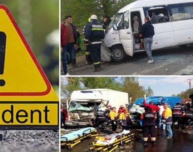 Accident deosebit de grav în Caraş-Severin! Un microbuz a fost implicat: sunt cel puţin...