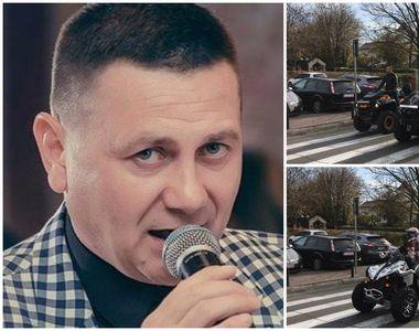 Zeci de membri ai Brigăzii ATV din Iaşi l-au condus astăzi pe ultimul drum pe...
