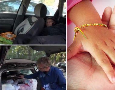 Constantin a dormit 9 luni în maşină pentru a fi mai aproape de fetiţa lui bolnavă de...