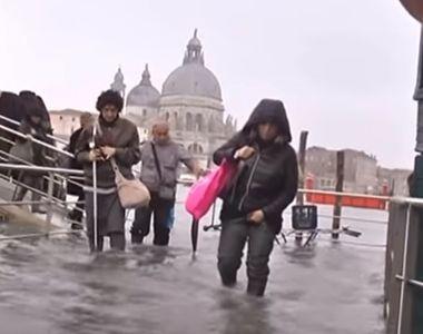 Cinci morţi în Italia, după ce apa din canalele veneţiene a atins un nivel istoric