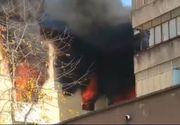 Explozie puternică într-un bloc din Piatra Neamţ! Ambulanţele au preluat mai multe victime