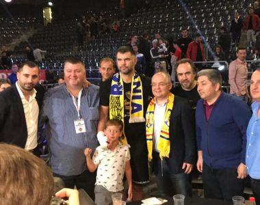 """Declaratiile surprinzatoare ale lui Emil Boc la meciul lui Daniel Ghita! """"Sunt un..."""