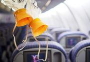 Panică într-un avion care tocmai decolase de pe aeroportul din Cluj! Toţi pasagerii şi-au pus măştile de oxigen