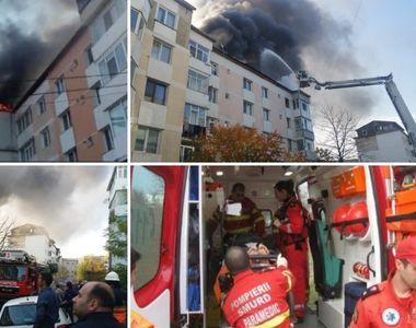 Tânărul de 29 de ani care a suferit arsuri în urma exploziei din Piatra Neamţ,...