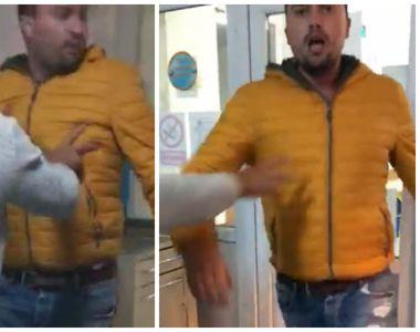 Scandal de proporţii într-un spital din Dolj! Un tânăr recalcitrant s-a luat la harţă...