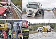 Accident teribil în Italia! O româncă se zbate între viaţă şi moarte pe patul de spital. Prietena ei, în stare gravă. Cele două s-au izbit de un TIR