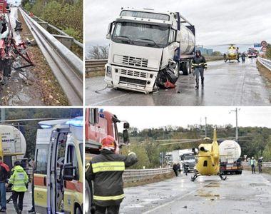Accident teribil în Italia! O româncă se zbate între viaţă şi moarte pe patul de...