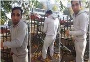 """Imagini virale cu un hoţ de biciclete surprins în fapt! """"E a ta? Pai cum e a ta, dacă eu am cheia?"""""""