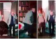 VIDEO EXCLUSIV Momentul în care i s-a făcut rău lui Florin Busuioc! Actorul a fugit în culise, unde s-a prăbuşit!