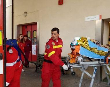 Tânărul ars din Piatra Neamţ, care a fost transferat în Belgia, a murit