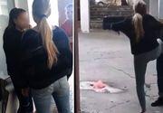 O adolescentă a fost bătută şi umilită în gara din Constanţa, de către trei fete. Câşiva băieţi filmaul scenele de o violenţă ieşită din comun