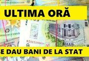 Statul va oferi bani pentru anumite categorii de persoane, până la 1 decembrie! Cine se încadrează şi ce sume vor primi