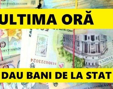 Statul va oferi bani pentru anumite categorii de persoane, până la 1 decembrie! Cine se...
