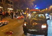 Un nou ATAC în România! Un şofer a intrat în plin într-un grup de oameni la Constanţa