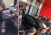 Tânărul care a înjunghiat un om şi ulterior a intrat cu maşina într-un mall din Brăila, arestat preventiv