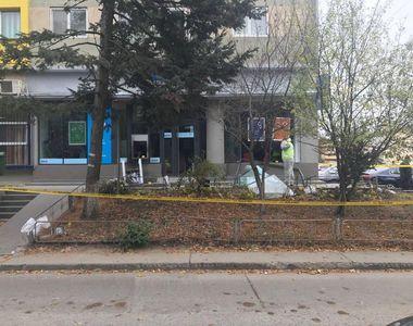 Tentativă de jaf la o bancă din Giurgiu! Atacatorii au folosit material explozibil
