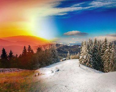 Ultimele veşti despre starea vremii! Temperaturile cresc în unele regiuni ale ţării şi...