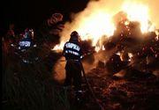 Bărbat ars de viu în propria casă. Pompierii se luptă cu flăcările