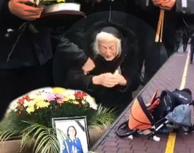 Imagini sfâşietoare cu mama jandarmeriţei din Suceava, spulberată pe trecerea de...