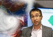 Un ciclon periculos ar fi de vină pentru vremea rea! Ce spun specialiştii ANM despre perioada următoare