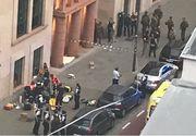 Stare de alertă la Bruxelles. Un poliţist a fost înjunghiat de un jihadist