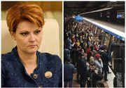Decizie de ultimă oră! Olguţa Vasilescu suspendă greva de la metrou