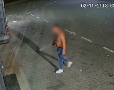 Caz halucinant în Argeş! Un tânăr a intrat cu maceta într-o benzinărie, pentru că nu i...