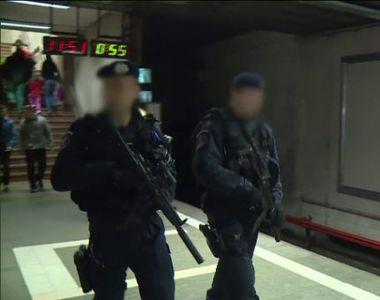 Paza la metrou urmează să fie asigurată de Jandarmeria Română! Deputaţii au promulgat...