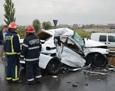 Iarnă face victime pe şosele! Mai mulţi şoferi au provocat astăzi accidente grave în ţară