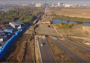 Bucata de autostradă care ar trebui să facă legătură între A3 şi şoseaua Petricani este încă în lucru! E a 5-a amânare a termenului de finalizare