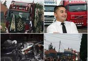 """Cătălin, zis """"Piciu"""", a fost condus pe ultimul drum de zeci de TIR-uri. Tânărul a pierit într-un accident teribil la Bengeşti Ciocadia"""