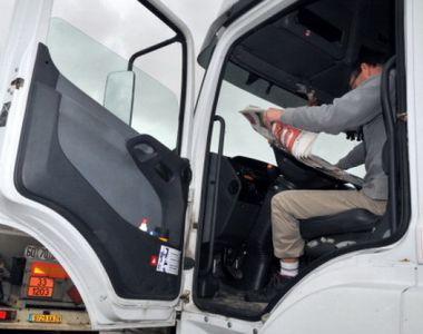 Ce s-a descoperit în camionul unui român, în Franţa. Bărbatul de 36 de ani, arestat pe loc