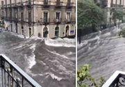 Vreme extremă. Românii care trăiesc în Italia şi în Anglia, în pericol