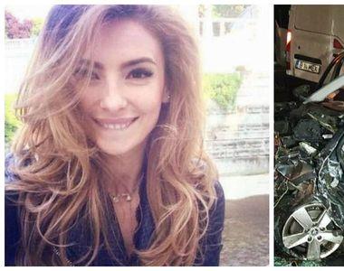 EA este tânăra mămică, care şi-a pierdut viaţa într-un accident cumplit, în Iaşi. Acasă...