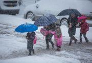 Peste 1.800 de elevi din Brăila vor rămâne acasă. Cursurile se suspendă din cauza vremii