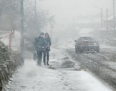 Valul de frig a lovit întreaga Europă! Ninsoarea a paralizat toată peninsula Balcanică