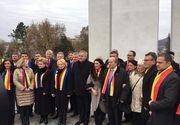 """Guvernul Dăncilă, primit la Alba Iulia cu ostilitate! """"Nenorociţilor, să vă fie ruşine!"""""""