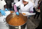 De 1 Decembrie se mănâncă gratis fasole cu ciolan! În ce oraş autorităţile au fost cele mai darnice