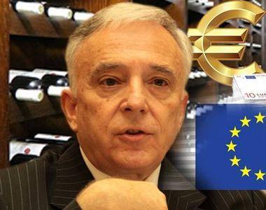 Mugur Isărescu a vrut să îşi doteze crama din fonduri europene! Guvernatorul a cerut...