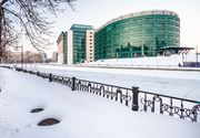 Suflă gerul în Biblioteca Naţională! Angajaţii instituţiei şi cititorii se plâng de condiţiile vitrege