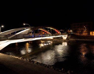 Pod unicat în România, realizat cu fonduri europene, inaugurat la Oradea! A fost...